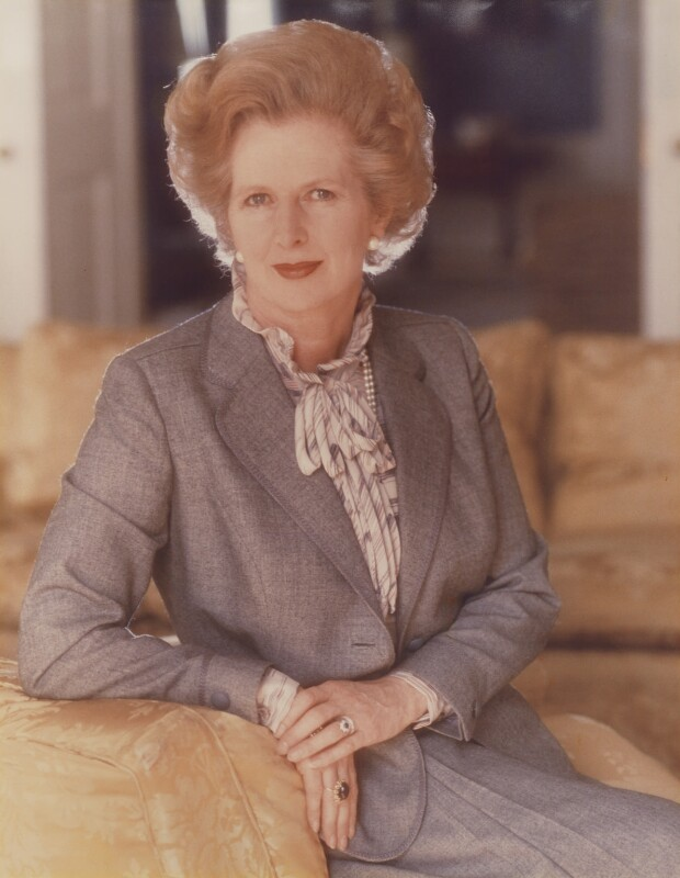 Margaret Thatcher, by Norman Parkinson, 1981 - NPG P177 - © Norman Parkinson Archive/ Iconic Images