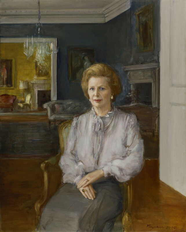 Margaret Thatcher, by Rodrigo Moynihan, 1983-1985 - NPG 5728 - © National Portrait Gallery, London