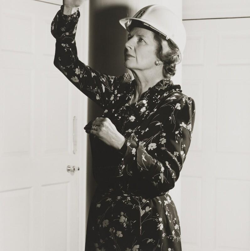 Margaret Thatcher, by Brian Griffin, 1986 - NPG P415 - © Brian Griffin