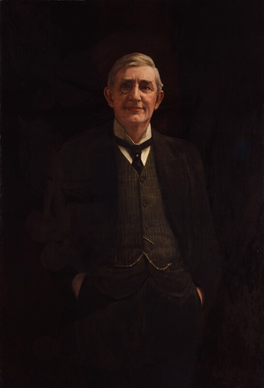 (Walter) Brandon Thomas, by Frederick Dudley Walenn, 1918 - NPG 5399 - © National Portrait Gallery, London