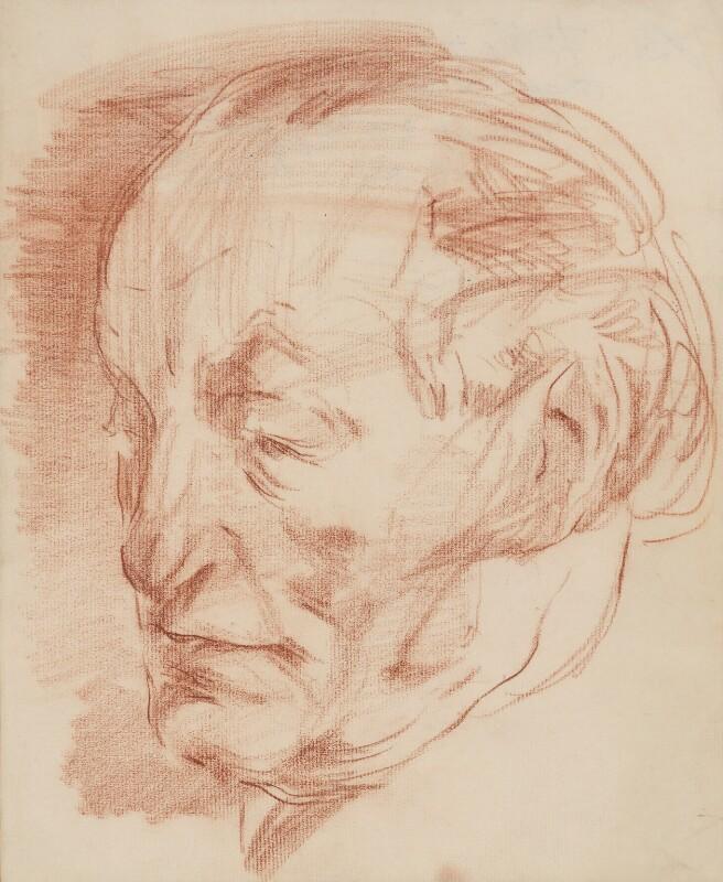 Ben Tillett, by Ivan Opffer, 1930s - NPG 5453 - © National Portrait Gallery, London