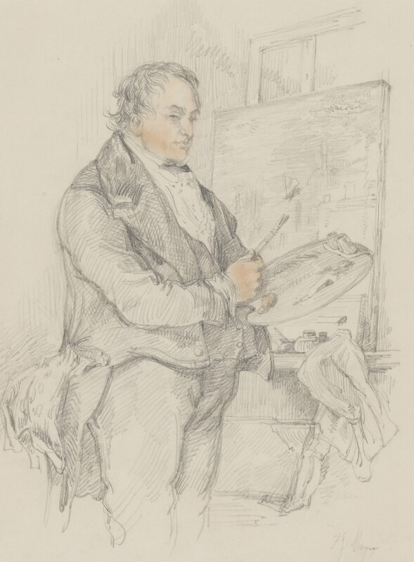 J.M.W. Turner, by Sir John Gilbert, circa 1837 -NPG 5566 - © National Portrait Gallery, London