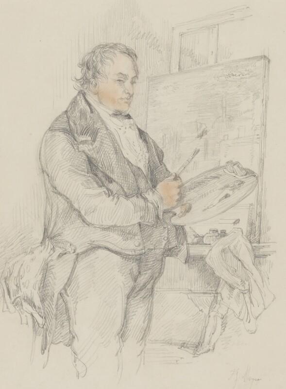 Joseph Mallord William Turner, after Sir John Gilbert, circa 1837 - NPG 5566 - © National Portrait Gallery, London
