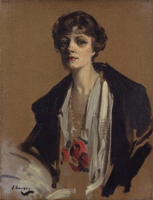 Irene Vanbrugh, by Sir John Lavery, 1916 - NPG 5821 - © National Portrait Gallery, London