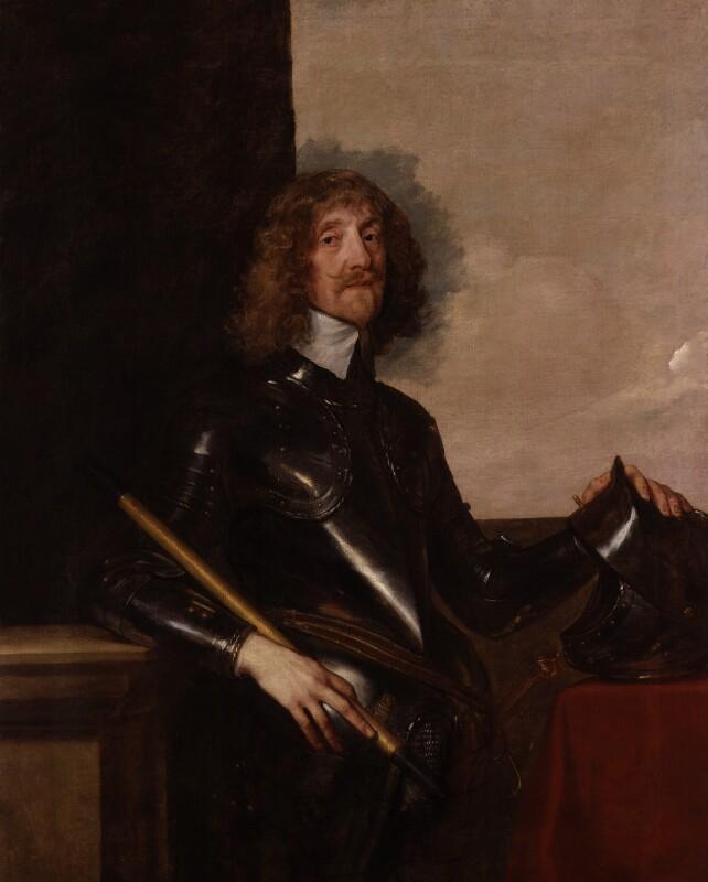 Sir Edmund Verney, by Sir Anthony van Dyck, circa 1640 - NPG L202 - © National Portrait Gallery, London