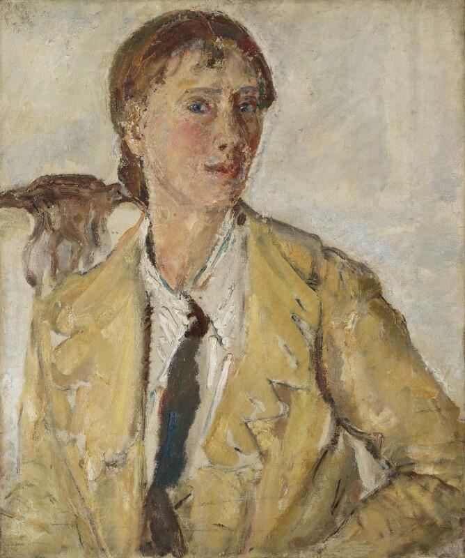 Dame Ethel Walker, by Dame Ethel Walker, circa 1925 - NPG 5301 - © National Portrait Gallery, London