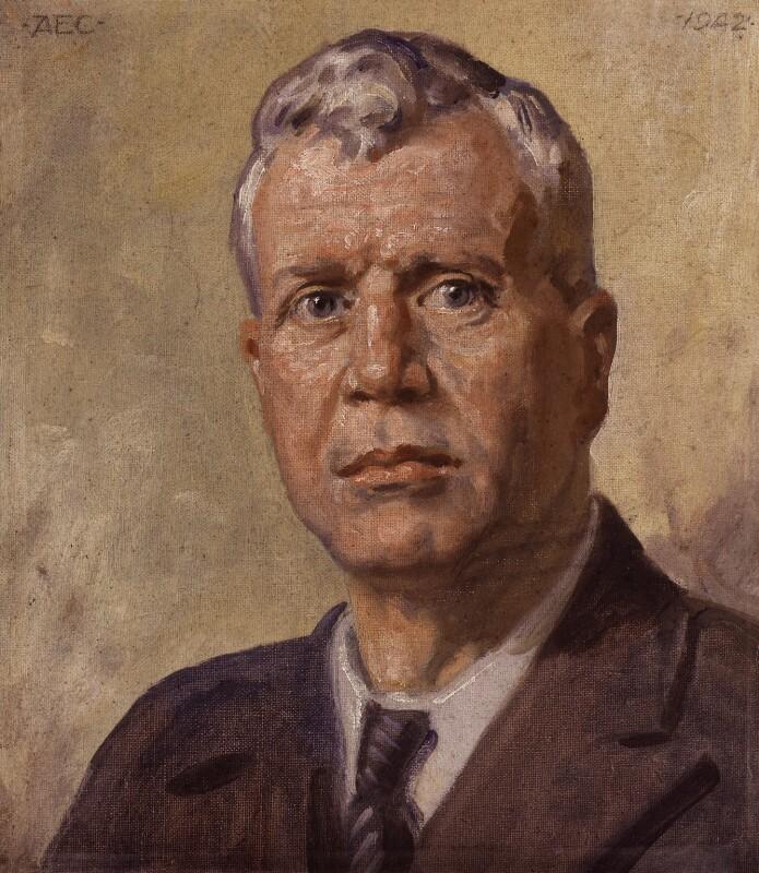 Sir Barnes Wallis, by Alfred Egerton Cooper, 1942 - NPG 5464 - © estate of Sir Barnes Wallis / National Portrait Gallery, London