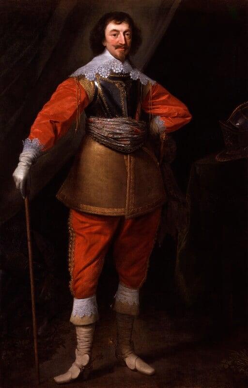 Robert Rich, 2nd Earl of Warwick, studio of Daniel Mytens, 1630-1635 - NPG 5298 - © National Portrait Gallery, London