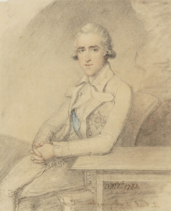 Richard Colley Wellesley, Marquess Wellesley, by Ozias Humphry, 1783 - NPG 5894 - © National Portrait Gallery, London