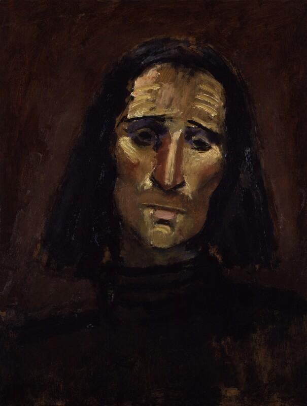 Sir Arnold Wesker, by Josef Herman, 1968 - NPG 5923 - © National Portrait Gallery, London