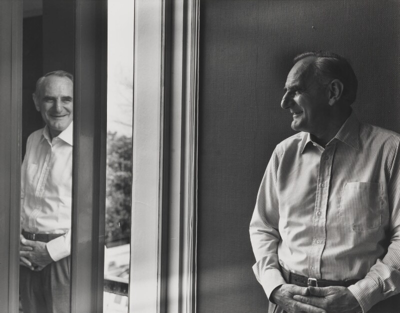 Sir Huw Wheldon, by Paul Joyce, May 1977 - NPG P320 - © Paul Joyce / National Portrait Gallery, London