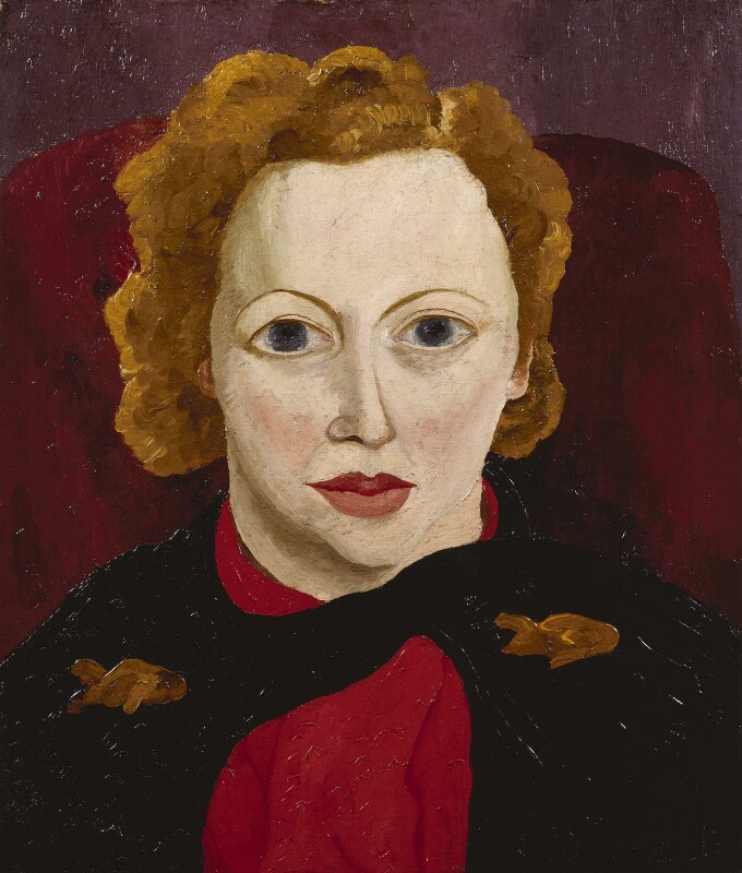 Antonia White, by Cedric Morris, 1936 - NPG 5998 - © National Portrait Gallery, London