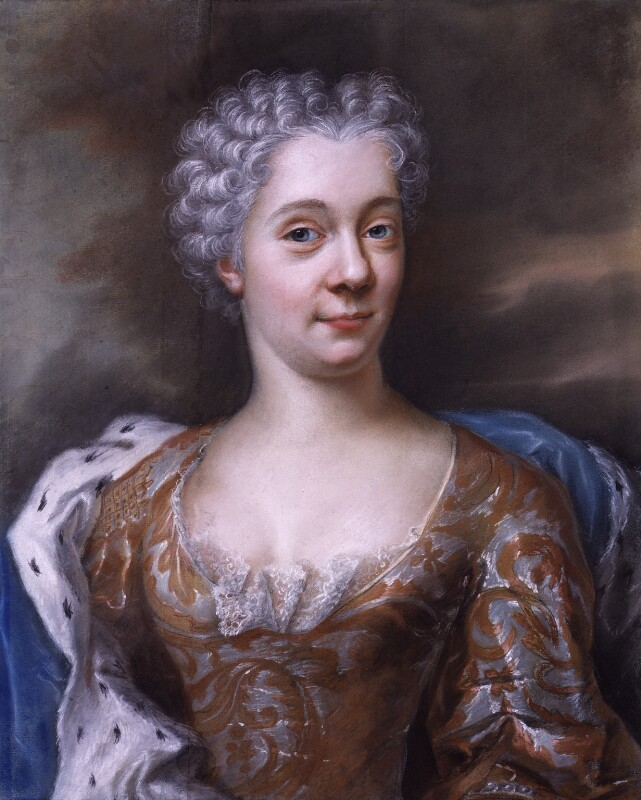 Magdalena Jacoba, Lady Whitworth, by Guillaume Birochon, circa 1724 - NPG 5418 - © National Portrait Gallery, London