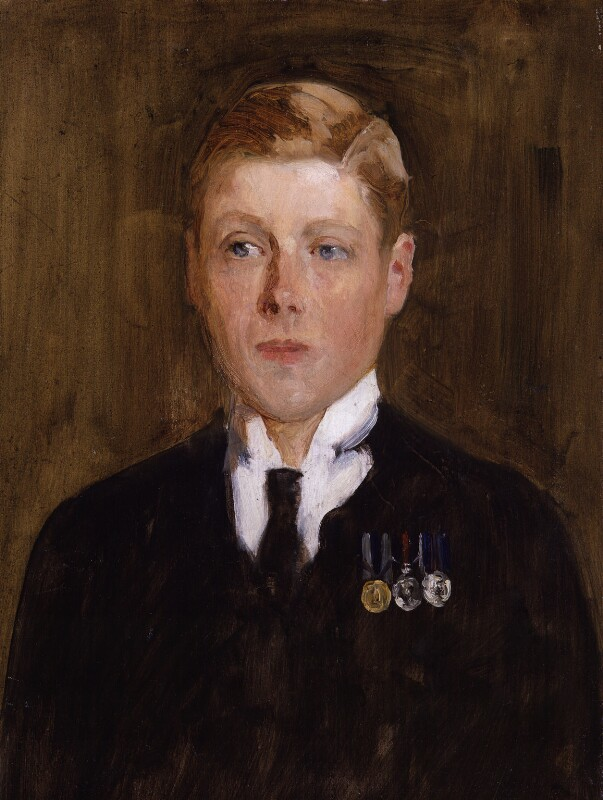 Prince Edward, Duke of Windsor (King Edward VIII), by Solomon Joseph Solomon, 1914 - NPG 5425 - © National Portrait Gallery, London