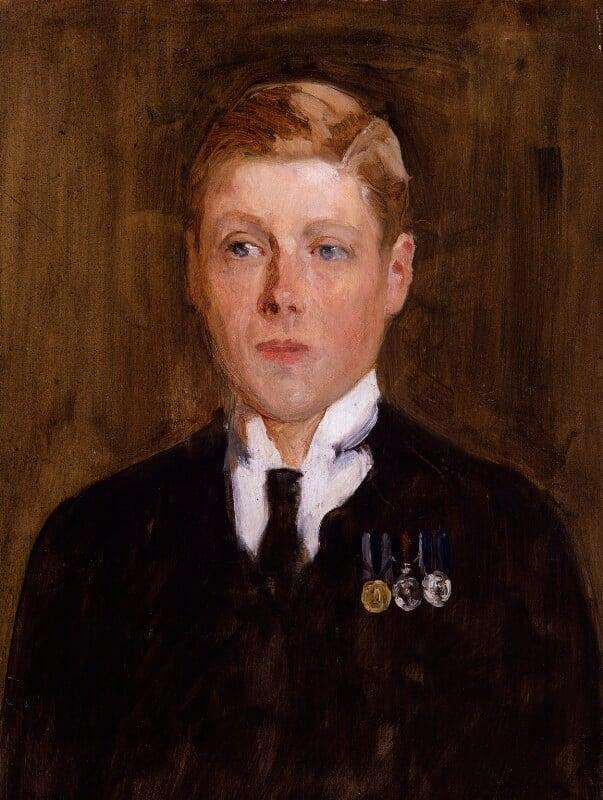 Prince Edward, Duke of Windsor (King Edward VIII), by Solomon Joseph Solomon, 1914 - NPG 5425 - © National Portrait Gallery, London