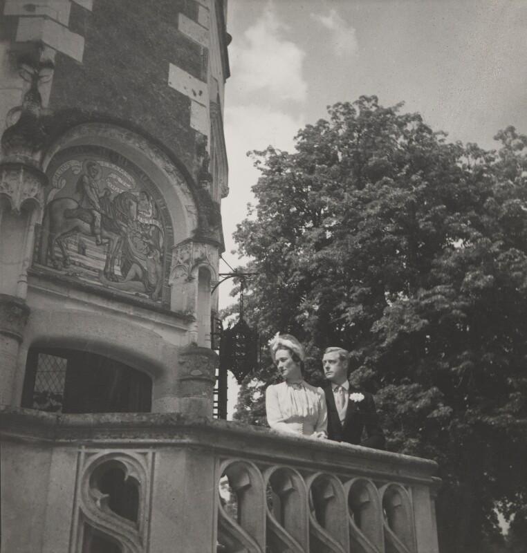 Wallis, Duchess of Windsor; Prince Edward, Duke of Windsor (King Edward VIII), by Cecil Beaton, 1937 - NPG P259 - © V&A Images