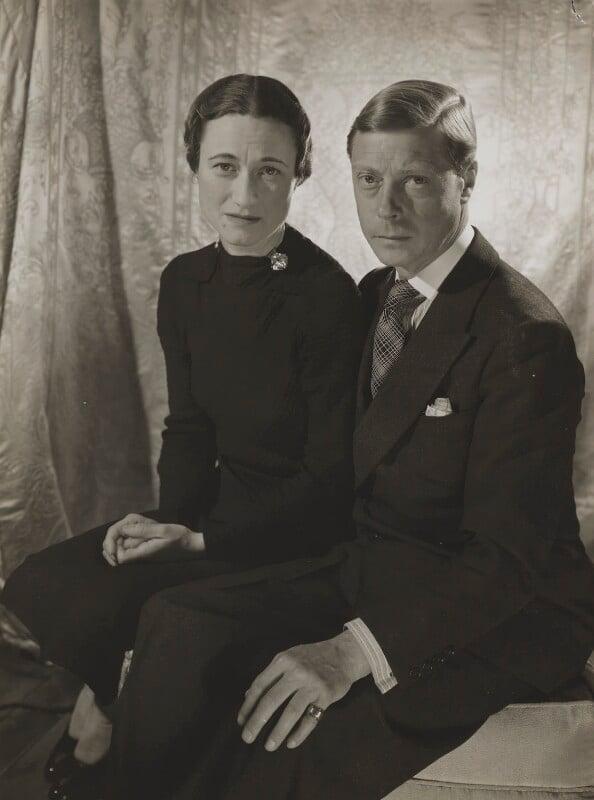 Wallis, Duchess of Windsor; Prince Edward, Duke of Windsor (King Edward VIII), by Cecil Beaton, 1937 - NPG P270 - © V&A Images