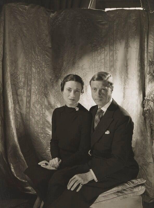 Wallis, Duchess of Windsor; Prince Edward, Duke of Windsor (King Edward VIII), by Cecil Beaton, 1937 - NPG P274 - © V&A Images