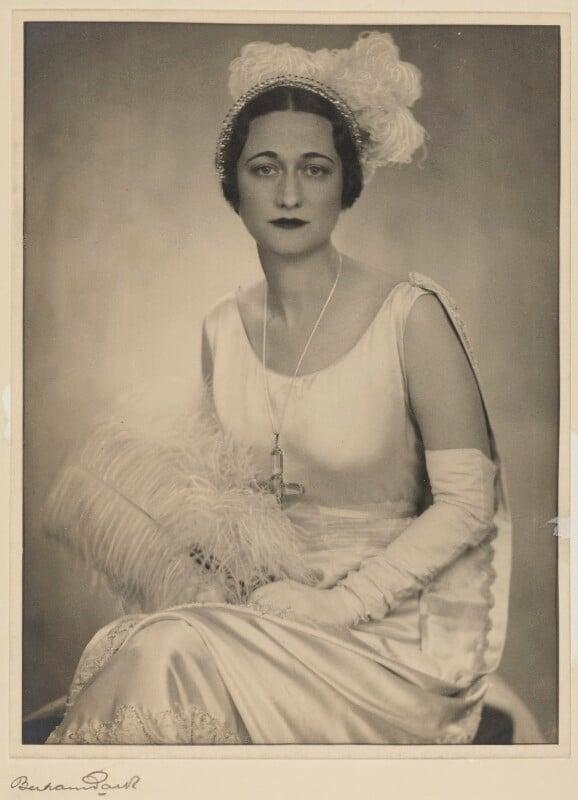 Wallis, Duchess of Windsor, by Bertram Park, 1931 - NPG P332 - © estate of Bertram Park / Camera Press