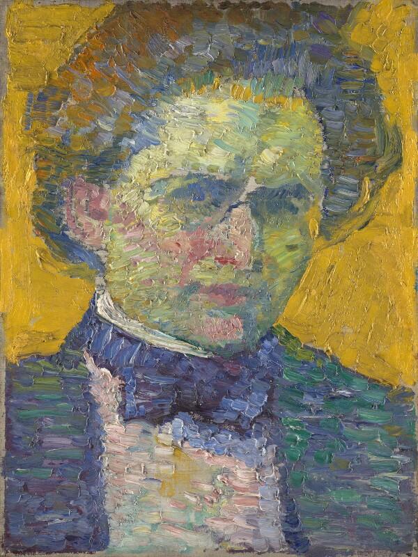 Alfred Wolmark, by Alfred Wolmark, 1911 - NPG 5690 - © National Portrait Gallery, London
