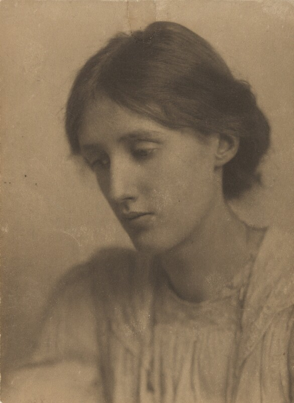 Virginia Woolf, by George Charles Beresford, July 1902 - NPG P220 - © National Portrait Gallery, London