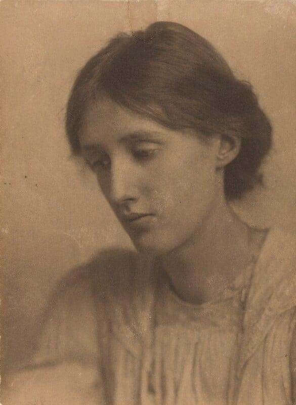 Virginia Woolf, by George Charles Beresford, July 1902 - NPG P220 - © National Portrait Gallery, London