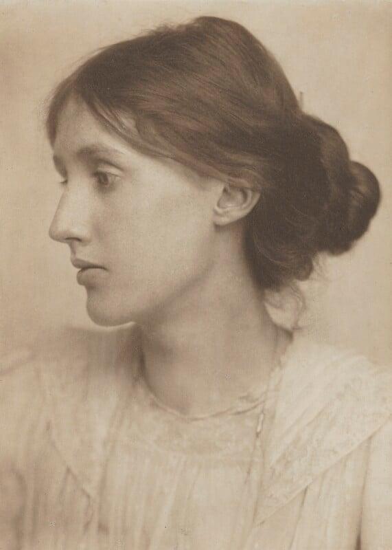 Virginia Woolf, by George Charles Beresford, July 1902 - NPG P221 - © National Portrait Gallery, London
