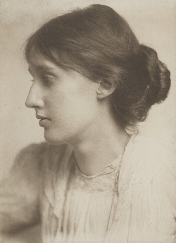 Virginia Woolf, by George Charles Beresford, July 1902 - NPG P222 - © National Portrait Gallery, London