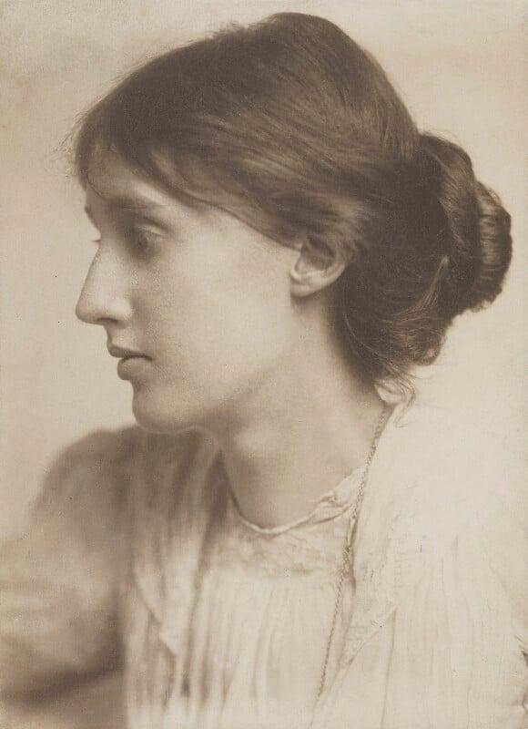 Virginia Woolf, by George Charles Beresford, July 1902 - NPG P222 - © National Portrait Gallery, London