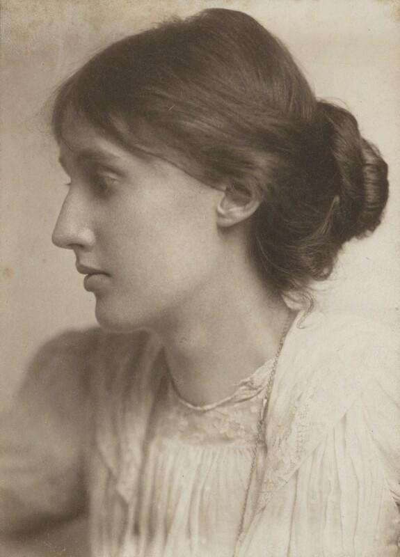 Virginia Woolf, by George Charles Beresford, July 1902 - NPG P223 - © National Portrait Gallery, London