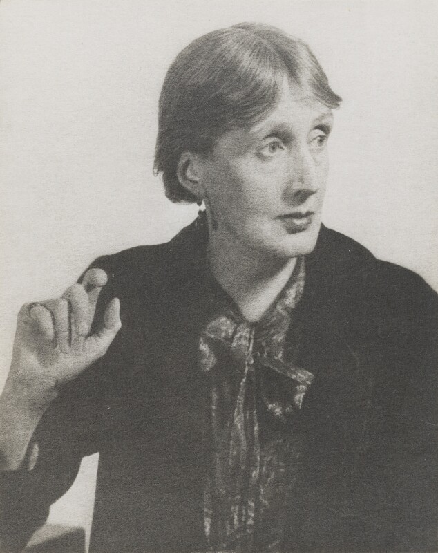 Virginia Woolf, by Man Ray, 27 November 1934 - NPG P170 - © Man Ray Trust/ADAGP, Paris and DACS, London 2018