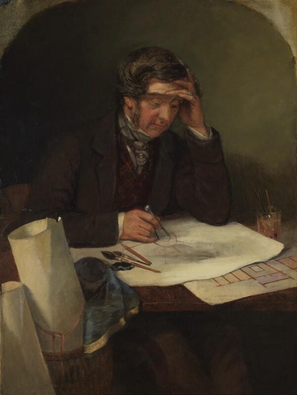 Thomas Henry Wyatt, by George Landseer,  - NPG 5710 - © National Portrait Gallery, London