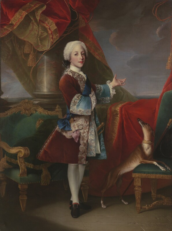 Henry Benedict Maria Clement Stuart, Cardinal York, by Louis Gabriel Blanchet, 1738 - NPG 5518 - © National Portrait Gallery, London
