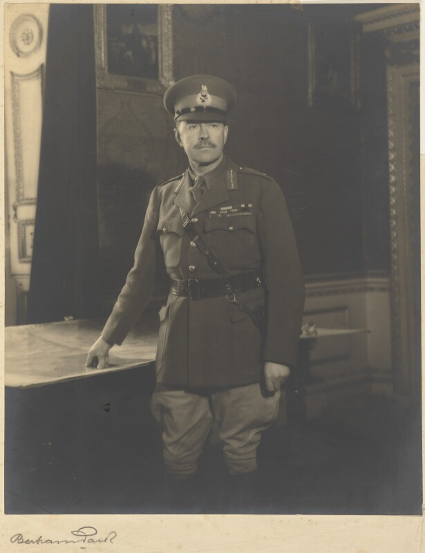 Harold Rupert Leofric George Alexander, 1st Earl Alexander of Tunis, by Bertram Park, 24 February 1941 - NPG P457 - © estate of Bertram Park / Camera Press