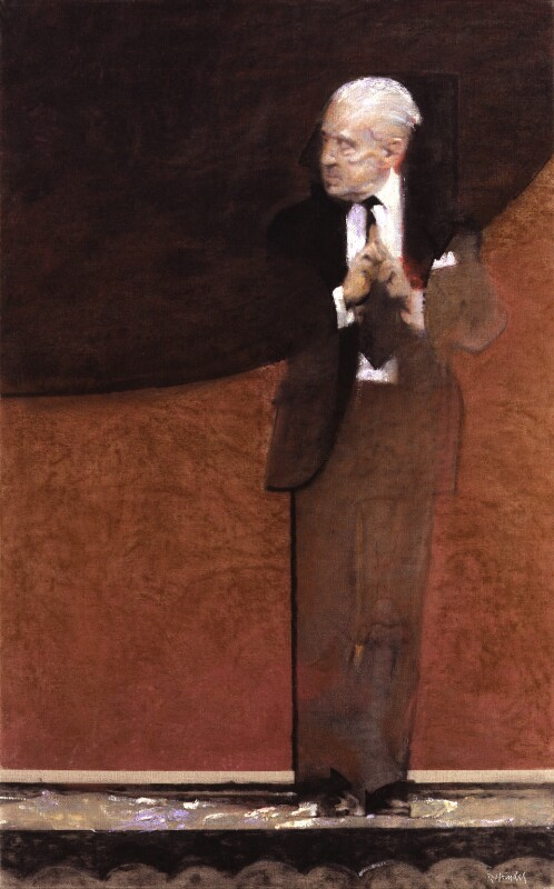 Sir Frederick Ashton, by Robert Heindel, 1985 - NPG 6189 - © Robert Heindel / National Portrait Gallery, London