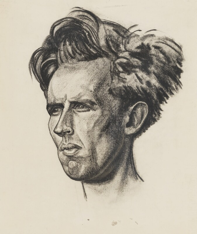 John Desmond Bernal, by Edmond Xavier Kapp, 1920s - NPG 6090 - © estate of Edmond Xavier Kapp