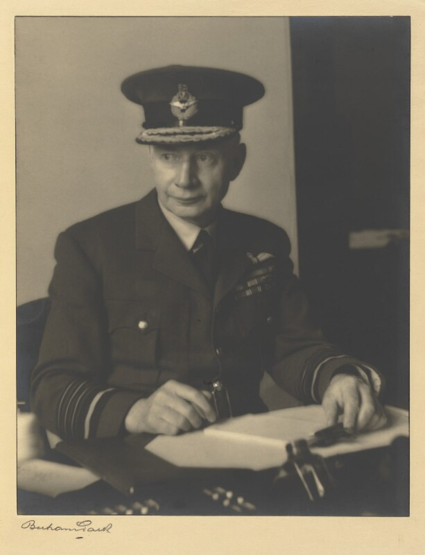 Sir Frederick William Bowhill, by Bertram Park, 1940 - NPG P459 - © estate of Bertram Park / Camera Press