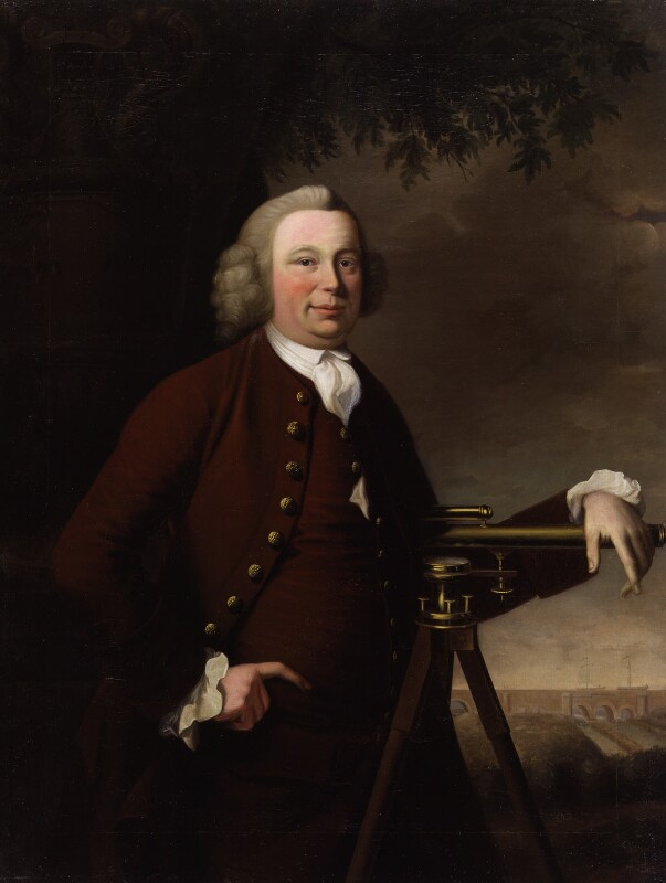 James Brindley, by Francis Parsons, 1770 -NPG 6170 - © National Portrait Gallery, London