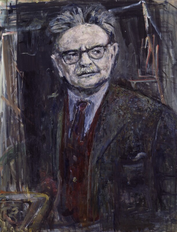 Elias Canetti, by Marie-Louise von Motesiczky, 1992 - NPG 6190 - © Marie-Louise von Motesiczky Charitable Trust / National Portrait Gallery, London