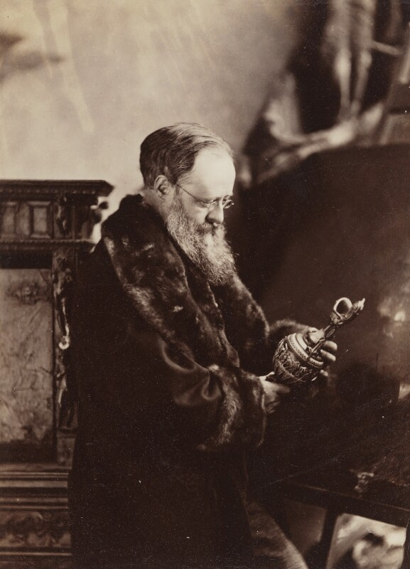 Wilkie Collins, by Napoleon Sarony, circa 1873-1874 - NPG P497 - © National Portrait Gallery, London