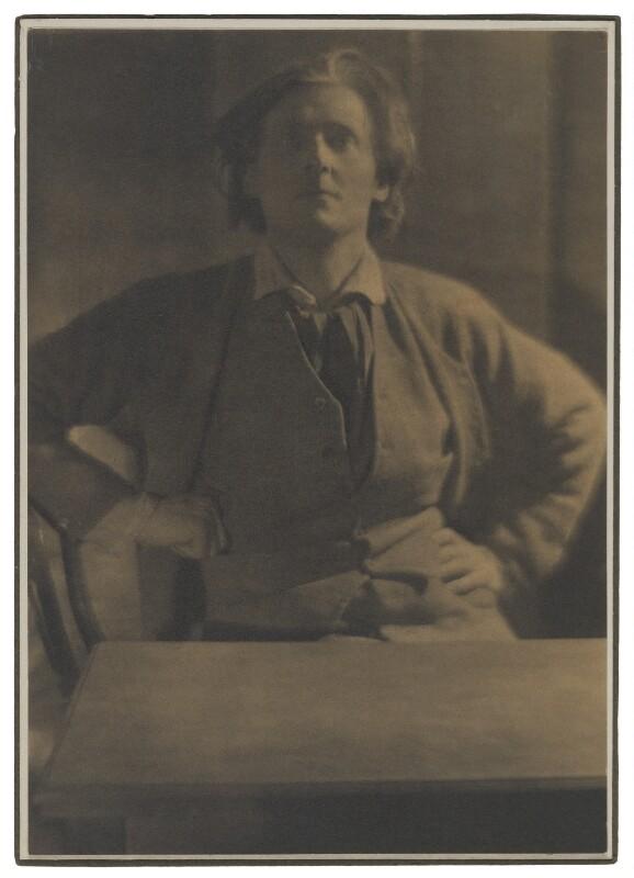 Gordon Craig, by Edward Steichen, 1908 - NPG P508 - © The Estate of Edward Steichen/ARS, NY and DACS, London 2018