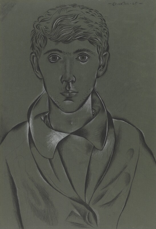 John Craxton, by John Craxton, 1945 - NPG 6177 - © National Portrait Gallery, London