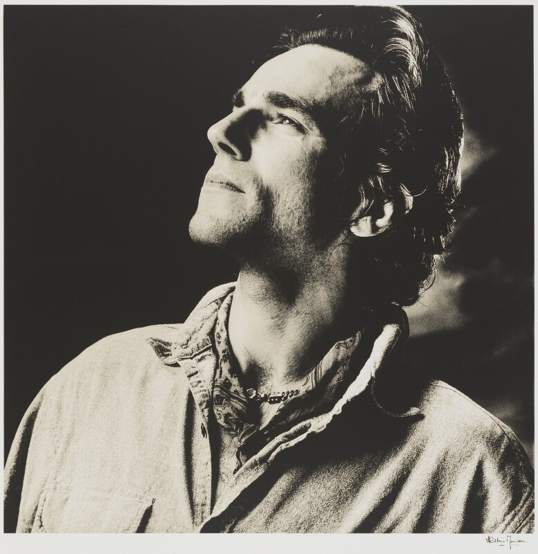 Sir Daniel Day-Lewis, by Alistair Morrison, 1989 - NPG P482 - © Alistair Morrison