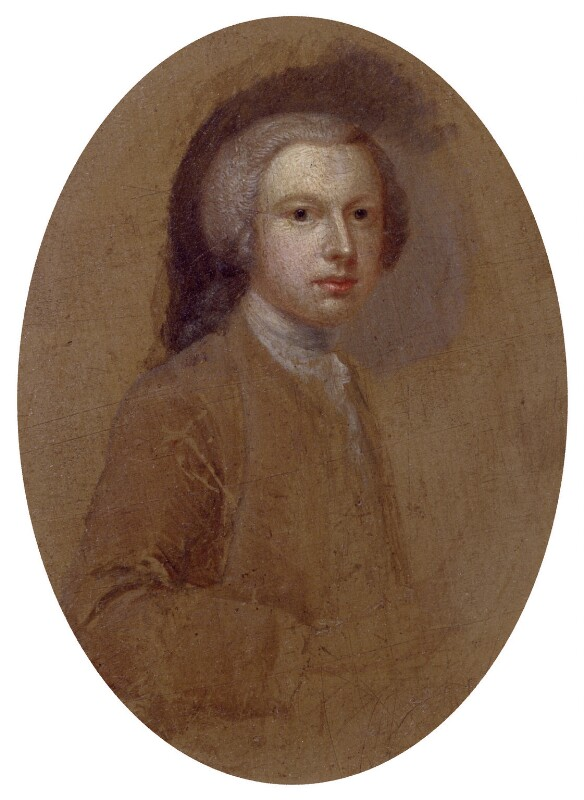 Arthur Devis, by Arthur Devis, circa 1742-1744 - NPG 6153 - © National Portrait Gallery, London