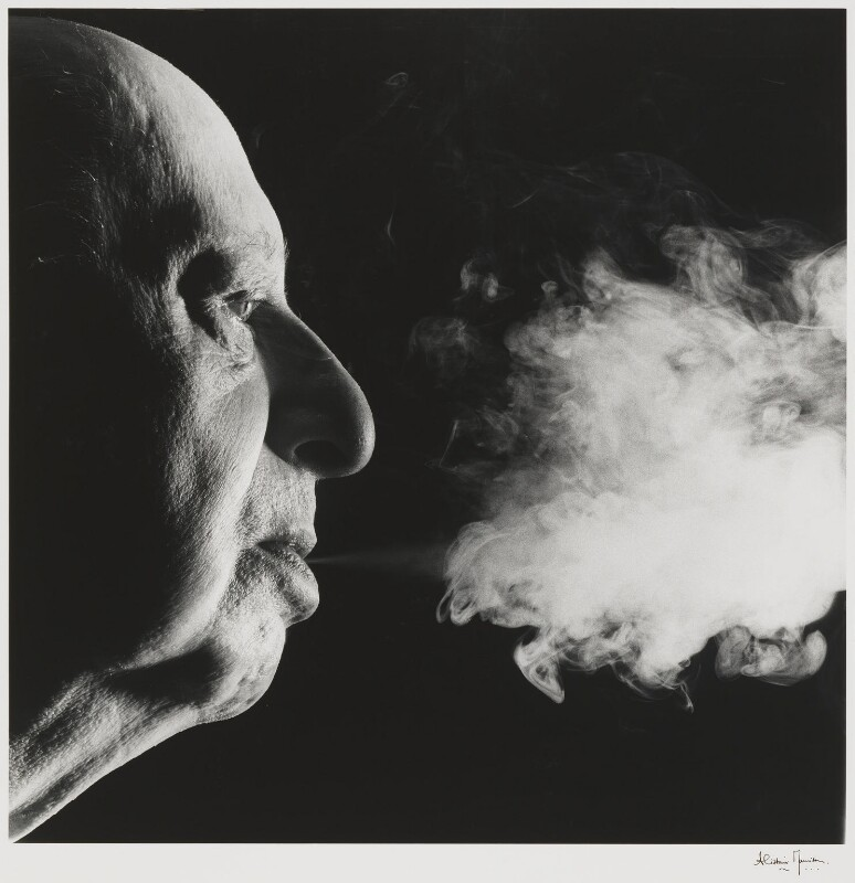 Lew Grade, Baron Grade, by Alistair Morrison, 1989 - NPG P484 - © Alistair Morrison