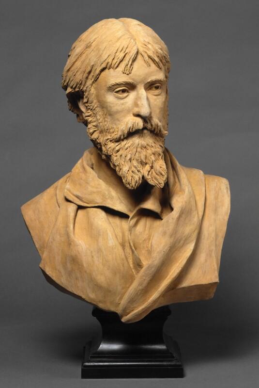 Sir Hubert von Herkomer, by (Edward) Onslow Ford, 1877 - NPG 6196 - © National Portrait Gallery, London