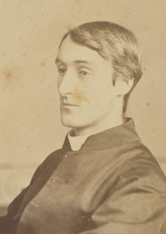 Gerard Manley Hopkins, by Forshaw & Coles, 1880 - NPG P455 - © National Portrait Gallery, London