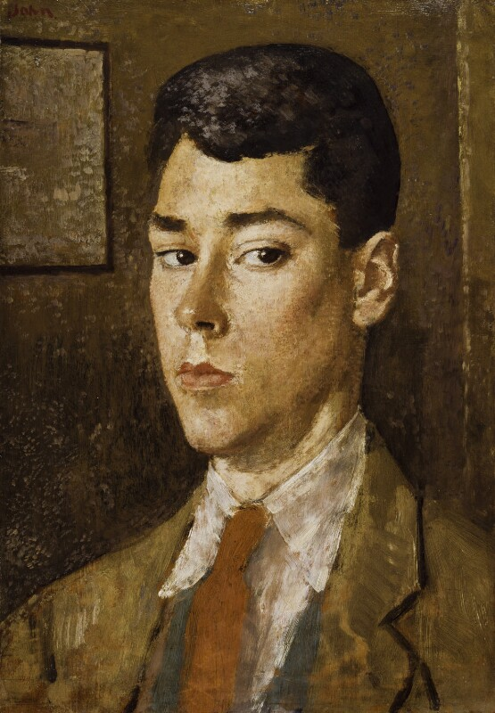 Sir Caspar John, by Augustus John, circa 1920 - NPG 6192 - © estate of Augustus John / Bridgeman Art Library www.bridgemanart.com