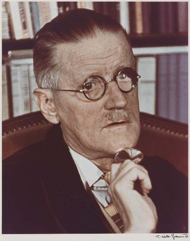 James Joyce, by Gisèle Freund, 1939 - NPG P435 - © Estate Gisèle Freund / IMEC Images