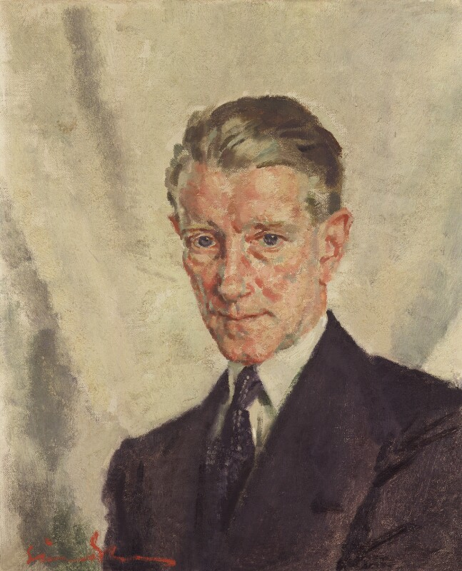 Frederick Lonsdale, by Simon Elwes, 1940s? - NPG 6089 - © National Portrait Gallery, London